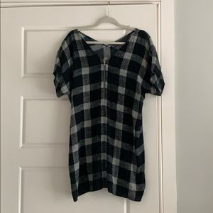 Made well mini checker print dress